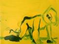 Enzo Marra - Franko B (yellow and green) - 2015