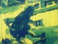 Enzo Marra - Yellow and Blue - Helen Frankenthaler - 2014